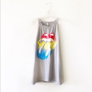 URBAN OUTFITTERS Rolling Stones graphic band tee S